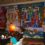 Un recital de poseía en Espacios Mayas
