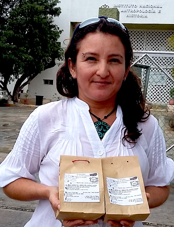 Susana Echeverría y el chocolate Kakau
