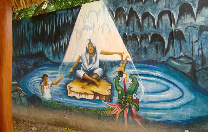 Foto elchilambalam / Un mural que podía verse hasta hace dos años en Maní