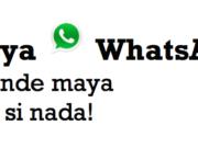 Aprende el idioma maya con WhatsApp, sin presiones y sin clases