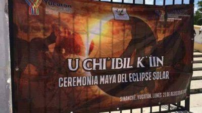Indemaya y CDI contribuyen a la corrupción de los símbolos sagrados de los mayas