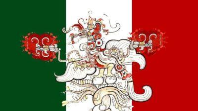 Resonancias mayas en la bandera mexicana