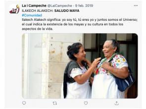 Cómo saludamos en los pueblos mayas de Yucatán