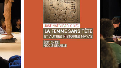 Leerán historias mayas de La mujer sin cabeza a invidentes en París