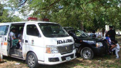 Silencio sobre un accidente de estudiantes en Yaxcabá