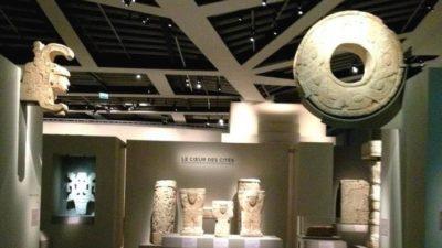 Una mirada al tiempo de los mayas en París