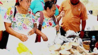 Campesinos mayas realizan su 12a. Feria de las semillas, en Valladolid