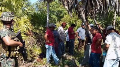 Familiares de jornaleros detenidos en Holbox protestarán ante la Profepa de Cancún