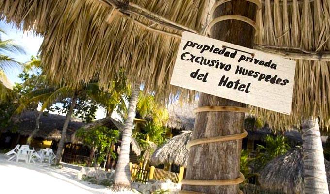 Restricciones en un hotel. Foto Sandra Salvadó