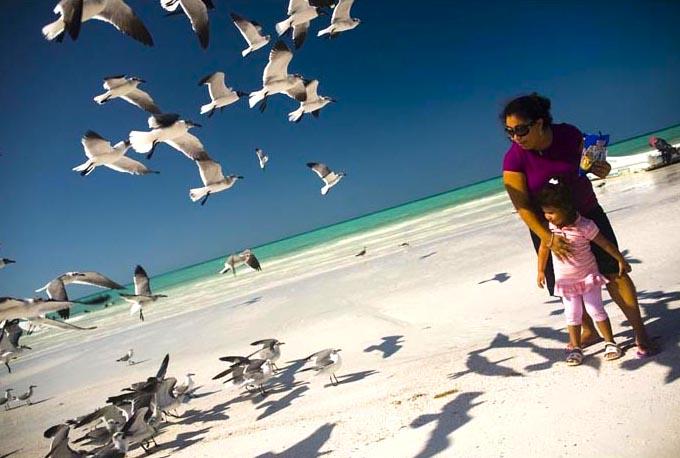 Escena de una playa. Foto Sandra Salvadó