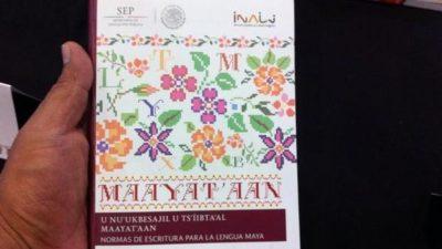 Un libro que fortalece la lengua maya y le da prestigio