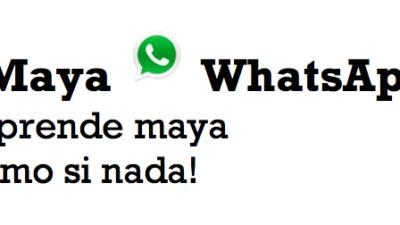 Aprende maya por medio de tu smartphone