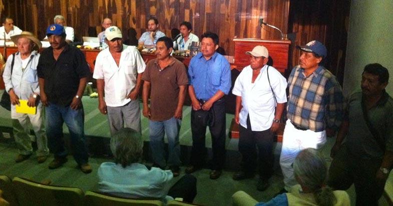 Productores de maíz del sur de Yucatán