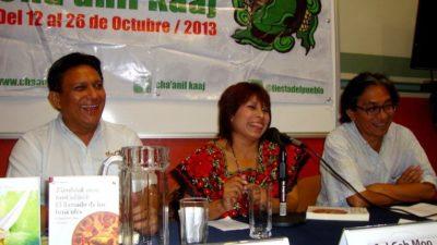 """Marisol Ceh en Cha'anil Kaaj: """"Escribo para demostrar que los mayas estamos aquí"""""""