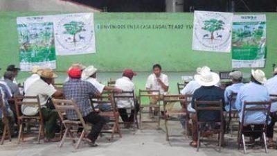 Ante el cambio climático, campesinos mayas se adaptan