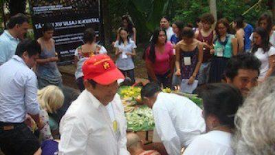 """""""Están acabando con nuestra milpa"""", expresan pueblos mayas en Maní"""